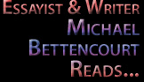 Scene4 Magazine: Perspectives - Audio | Theatre Thoughts  | Michael Bettencourt April 2016 | www.scene4.com